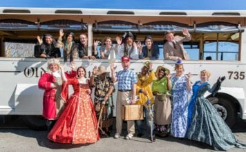 Day Trip Savannah Trolley Tour