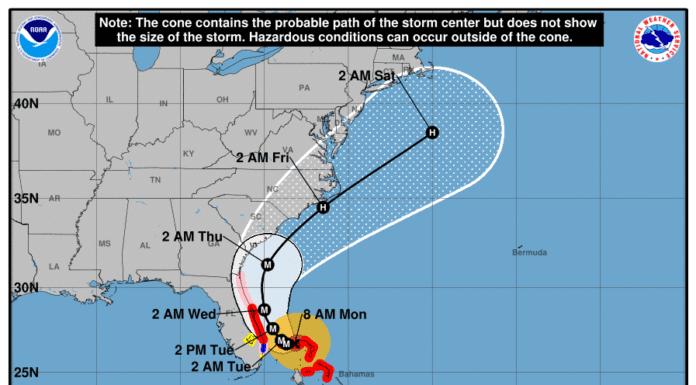 Hurricane Dorian Savannah GA