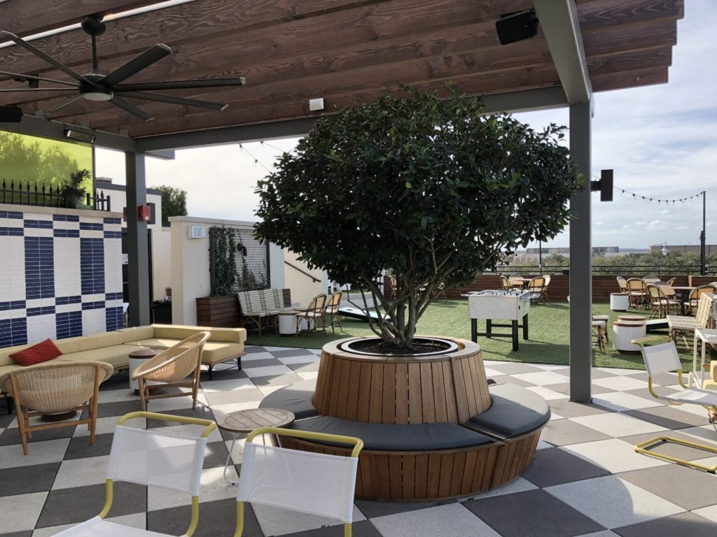 Roof Top Bar Savannah