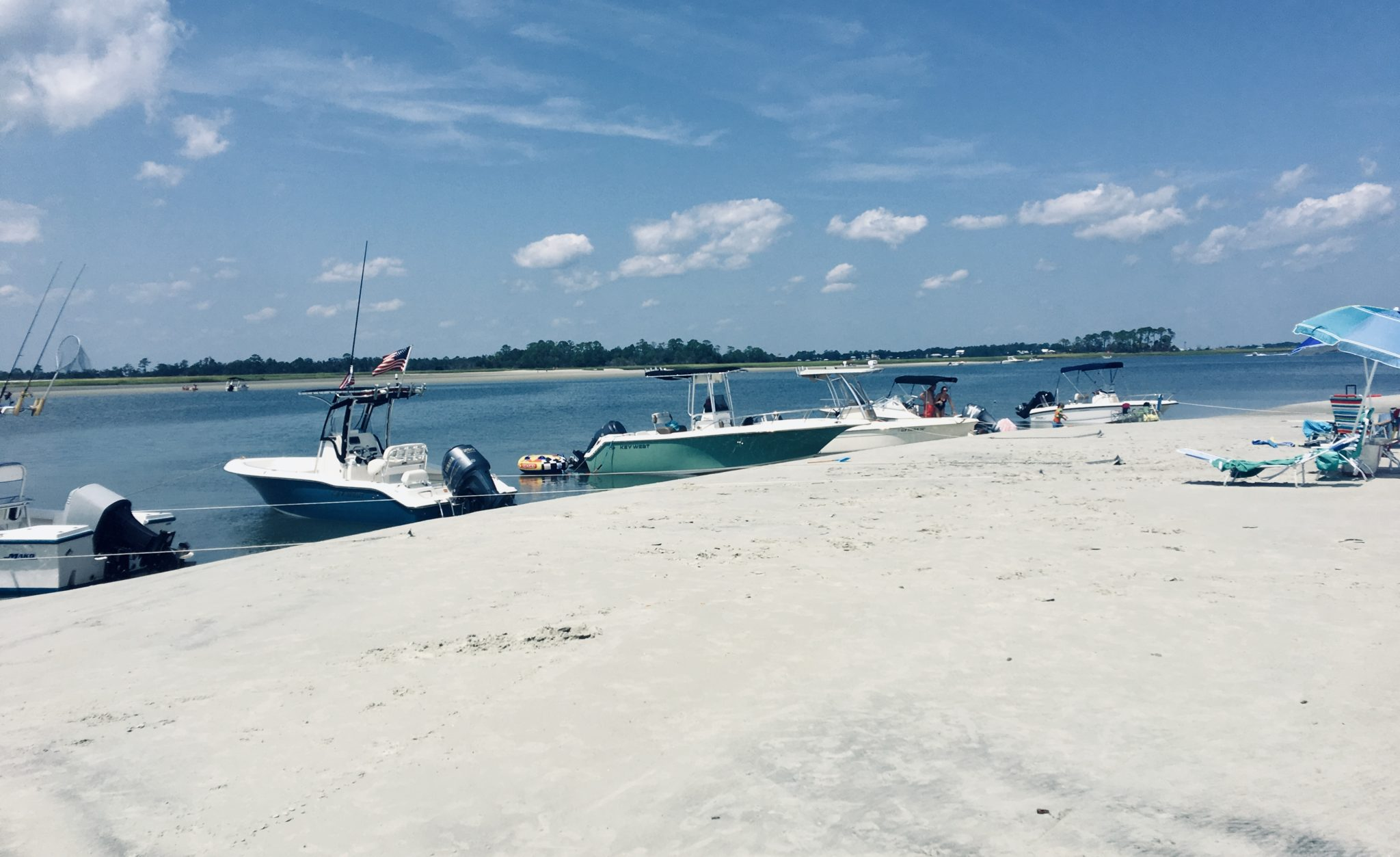 Boating at Tybee Island