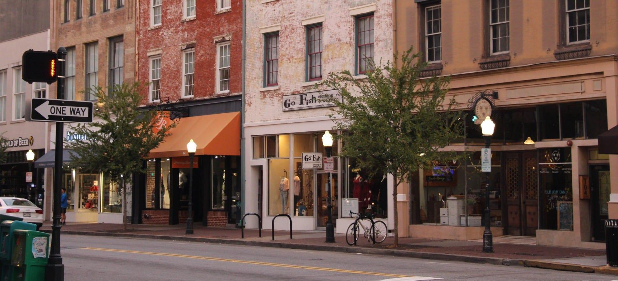 Broughton Street Savannah