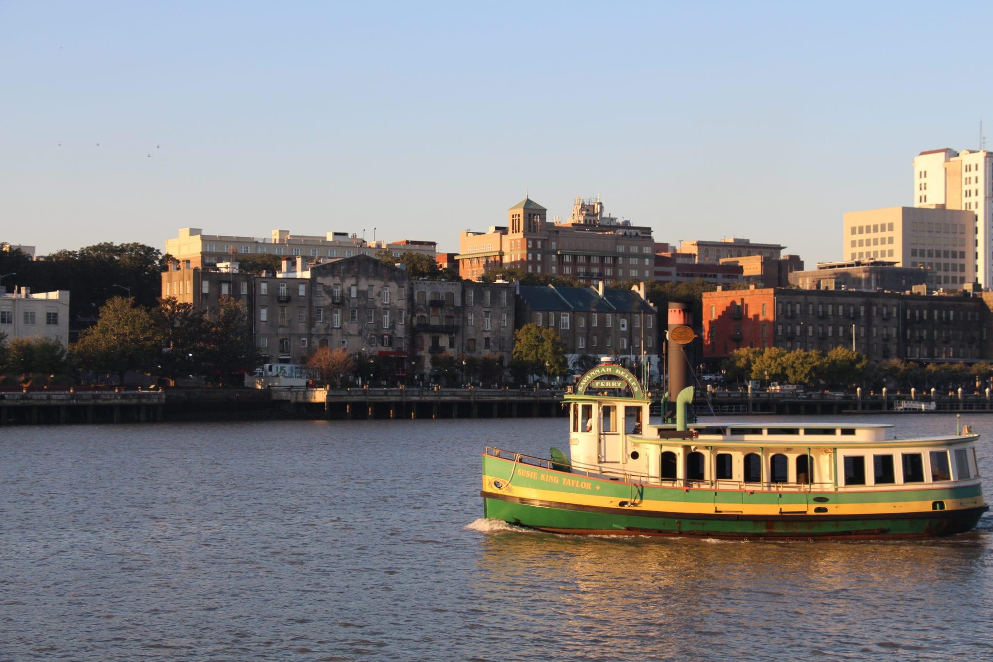 Water Taxi Savannah